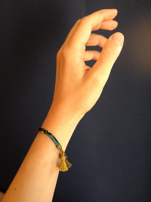 Bracelet Bamako porté